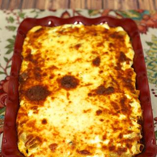 Cheesy Baked Rigatoni
