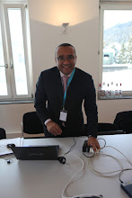 Photo: Mohamed Al Ayed in the staff room...