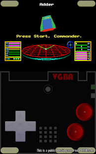 VGBAnext - GBA / GBC Emulator Screenshot