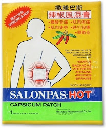 Salonpas Hot Capsicum Alternative Pain Relief Patch