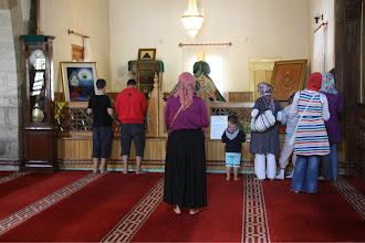 Photo: Semsi Tebrezi's tomb.