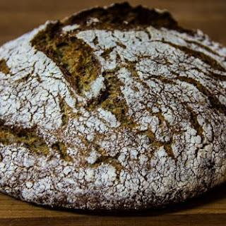 Finnish Rye Bread (Ruisleipä).