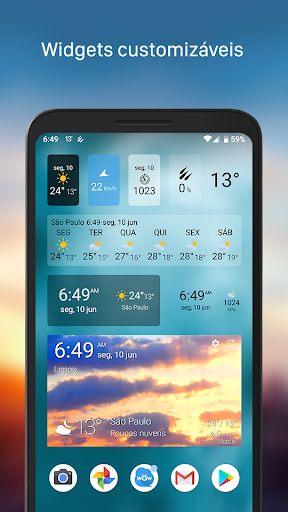 Clima & Widget - Weawow (Previsão do tempo) screenshot 2