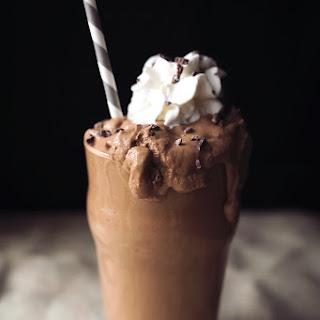 Chocolate Avocado Shake.