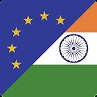 Euro a Rupia India icon