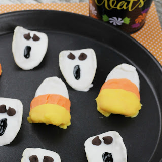 Halloween Chocolate Covered Potato Chips