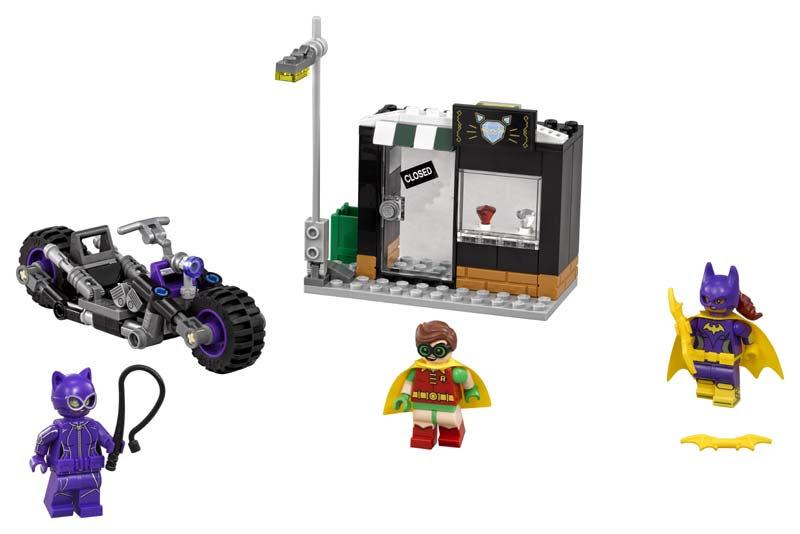 Contenido de Lego® 70902 Moto felina de Catwoman™