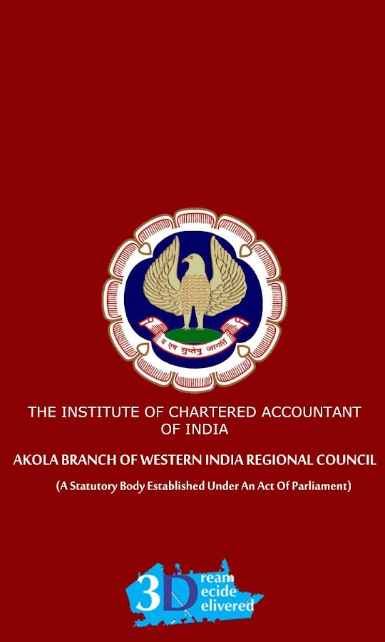 ICAI Akola Branch- screenshot