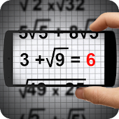 Maths Photo-Solution Simulator