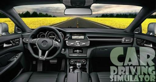 カーシミュレータードライビング
