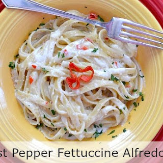 Ghost Pepper Fettuccine Alfredo