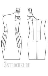 выкройка платье тюльпан