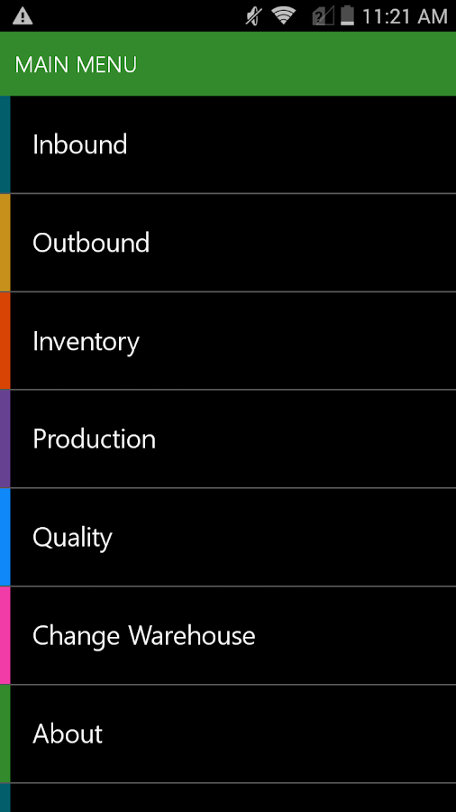 Warehousing - Dynamics 365- screenshot