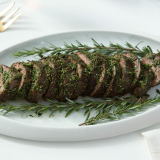 Herb-Crusted Beef Tenderloin with Horseradish Cream Sauce
