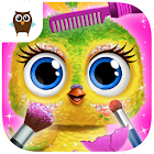 Baby Animal Hair Salon 3 - Newborn Hatch & Haircut icon