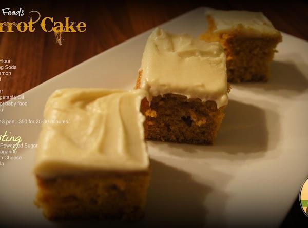 The Farmerette's Carrot Cake Recipe