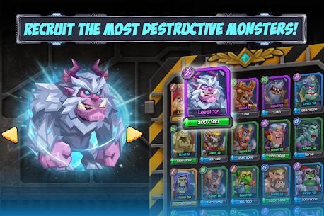 Tactical Monsters Rumble Arena MOD APK [High Attack + Defense] 1.18.6 3