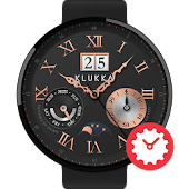 Antique watchface by Klukka