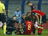 """Martinez craint le pire pour Fellaini: """"Je crois que les ligaments sont touchés"""""""