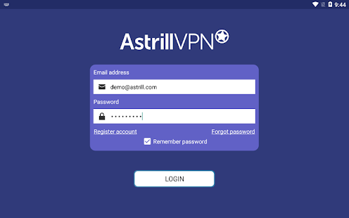 Astrill VPN - free & premium Android VPN Screenshot