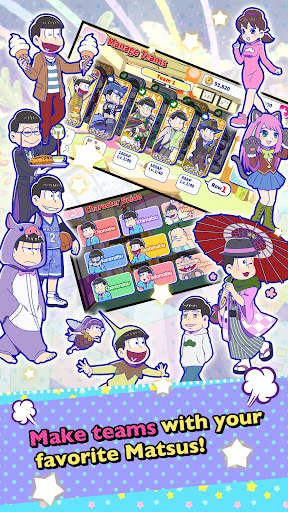 Osomatsu-san Hesokuri Wars~Battle of the NEETs~  {cheat|hack|gameplay|apk mod|resources generator} 3