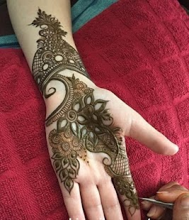 Simple Mehndi Designs For Girl Mod
