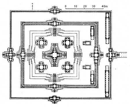 План храма Ta Keo