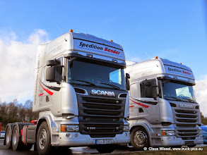 Photo: New Streamliner........  Click for more photos: www.truck-pics.eu or join me on Facebook: claus wiesel