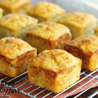 Kickin' Crab Corn Muffins.