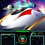 Galaxy space train simulation:bullet train