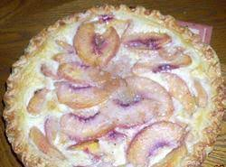 Peach Cream Pie Recipe