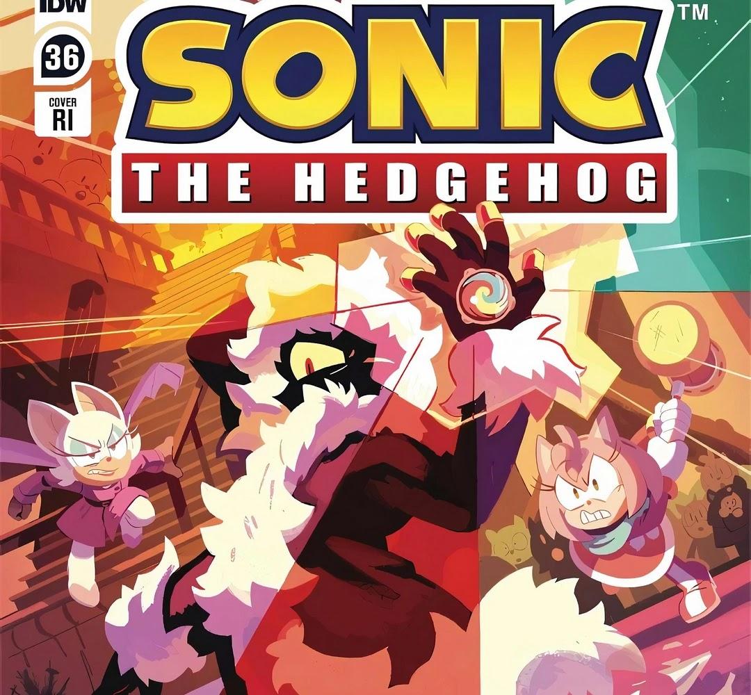 IDW Sonic the Hedgehog - przegląd numeru 36-ego