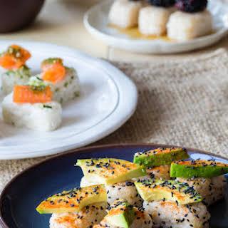 Breakfast Bento Sushi.
