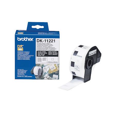 Etikett DK22205       30mx62mm