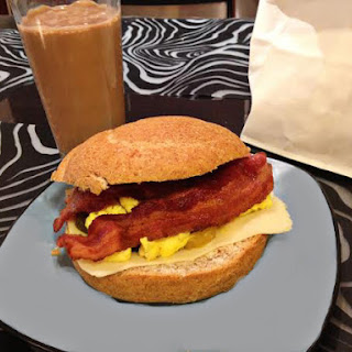 Classic Bacon and Egg Sandwich