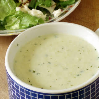 """""""Creme"""" of Broccoli soup."""