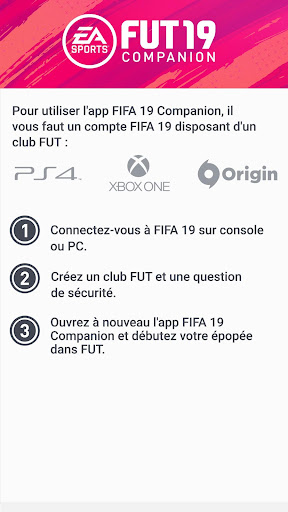 EA SPORTS™ FIFA 19 Companion  captures d'écran 1