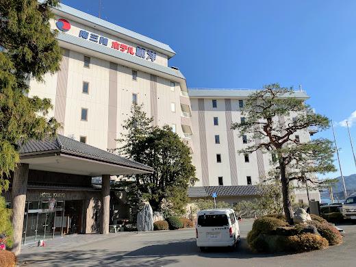 南三陸ホテル観洋さん正面玄関