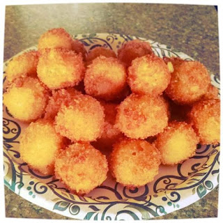 loaded Yukon Gold Mashed Potato Balls