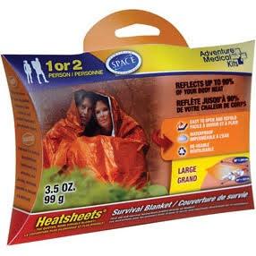 Adventure Medical Kits Heatsheets Survival Blanket (Two Person)