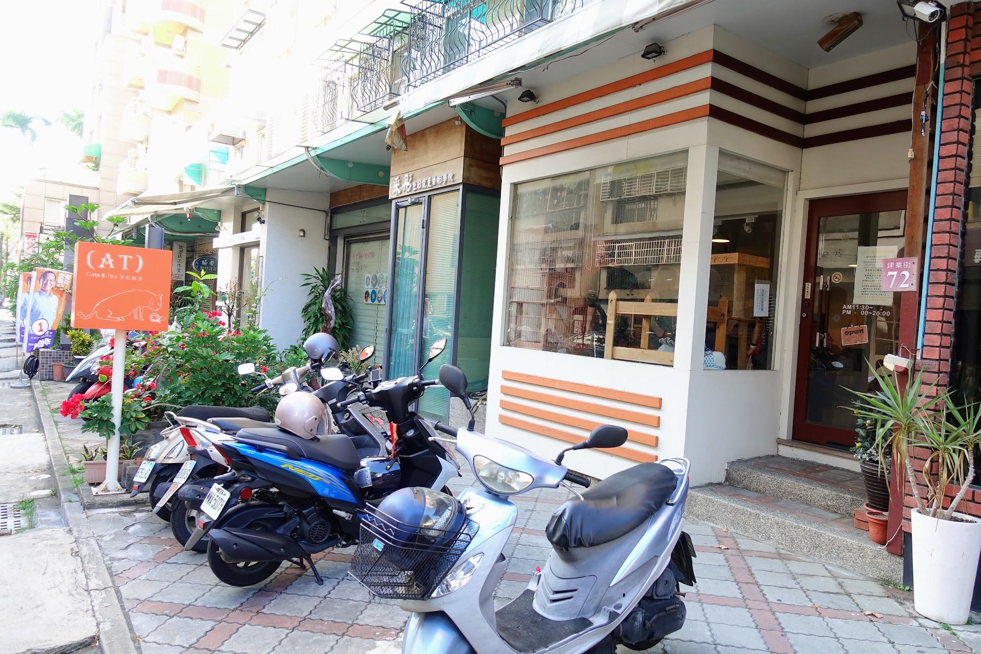 這一家是在台南的貓咪咖啡館喔!
