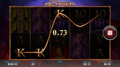 Casino Free Slot Game - THE MASK OF ZORRO 1.0.1 screenshots 3