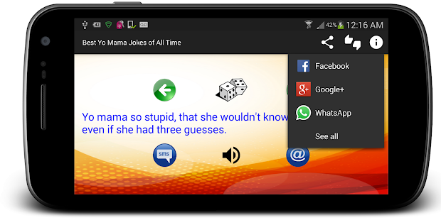 Best Yo Mama Jokes of All Time- screenshot thumbnail