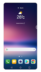 Floating Bar LG V30 Screenshot