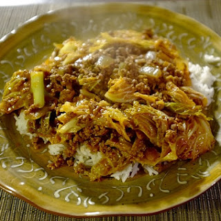 Pressure Cooker Unstuffed Cabbage