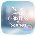 Christmas GO Weather Live Backgrounds icon