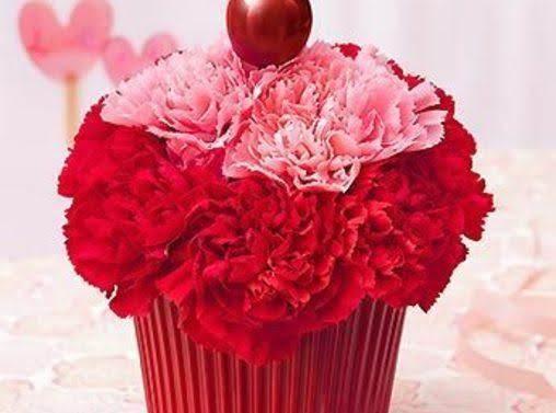 Diy:  Cupcake Flower