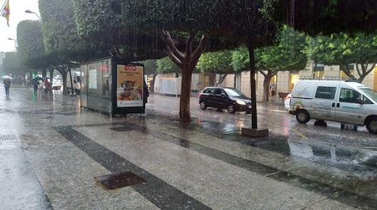 Aviso: alerta naranja por fuertes lluvias