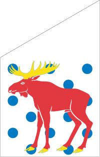 Gästrikland Fasadflagga 75 cm