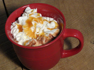 Salted Caramel Hot Chocolate! Recipe